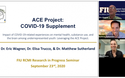 ACE Project Presents on Award of COVID-19 Administrative Supplement