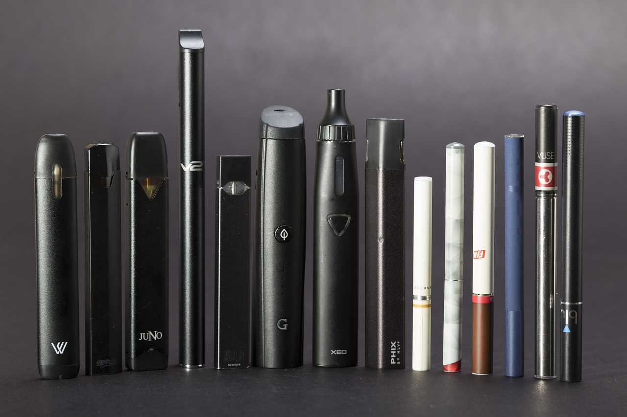 Line of e-cigarette devices